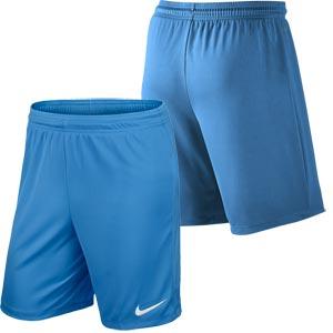 Nike Park II Knit Junior Football Shorts University Blue