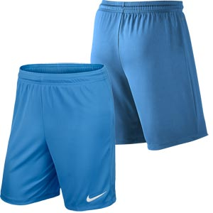 Nike Park II Knit Senior Football Shorts University Blue