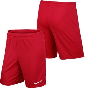 Nike Park II Knit Junior Football Shorts University Red
