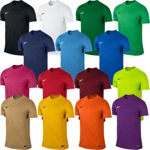 Nike Park VI Short Sleeve Senior Football Jersey