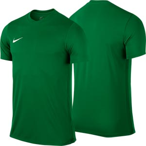 Nike Park VI Short Sleeve Senior Football Shirt Pine Green