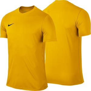 Nike Park VI Short Sleeve Senior Football Shirt University Gold
