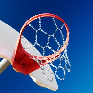 Chain Link Basketball Net