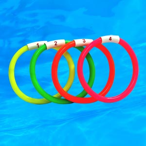 Swimming Sinker Ring 4 Set