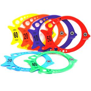 Newitts Diving Fish 6 Set