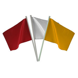 Water Polo Referee Flag Set