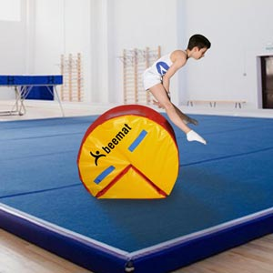 Beemat Red/Yellow Handspring Roller Flip Block
