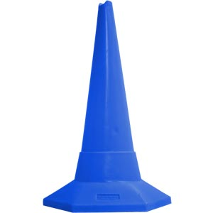 Ziland Sand Weighted Sports Cone 75cm Blue