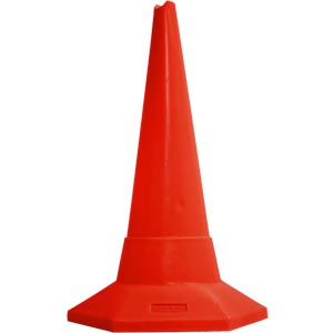 Ziland Sand Weighted Sports Cone 75cm Red