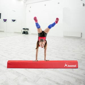 Beemat Balance Beam Red