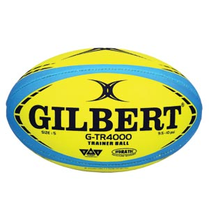 Gilbert G TR4000 Trainer Rugby Ball Yellow