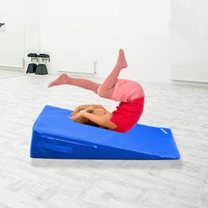 Beemat Gymnastic Incline Wedge Blue