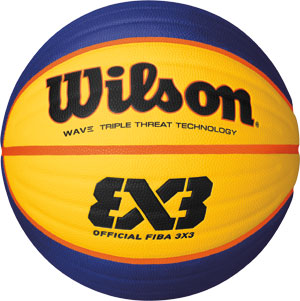 Wilson FIBA 3 X 3 Official Basketball
