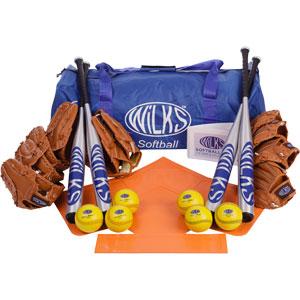 Wilks Club Softball Set