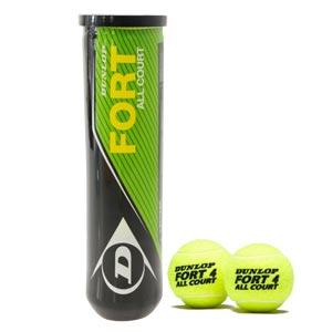 Dunlop Fort All Court Tennis Balls 4 Pack