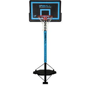 Q4 Kompetitor Portable Basketball System