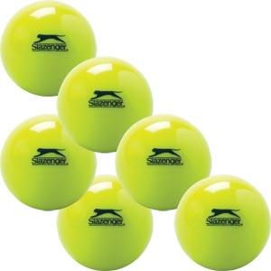 Slazenger Indoor Hockey Ball 6 Pack