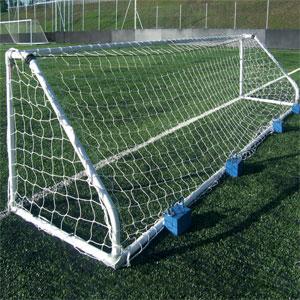 Harrod UK Freestanding Heavy Duty Steel Football Posts 5 v 5
