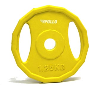 Apollo Studio Barbell Plate 1.25kg