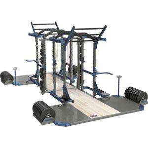 Exigo Olympic Elite Power and Power Combination Double Rack