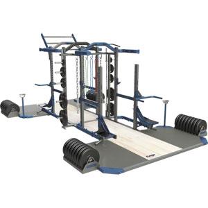 Exigo Olympic Elite Power and Multi Combination Double Rack