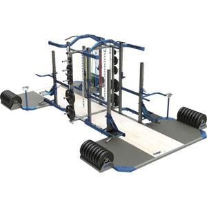 Exigo Olympic Elite Multi and Multi Combination Double Rack