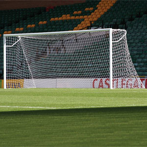 Harrod UK 3G Socketed Stadium Club Football Posts 24ft x 8ft