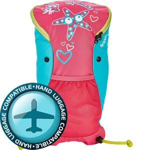 Speedo Sea Squad Backpack Pink/Blue