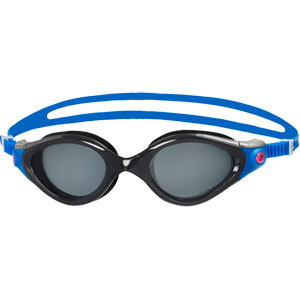 Speedo Futura Biofuse 2 Polarised Female Swimming Goggles Blue/Smoke