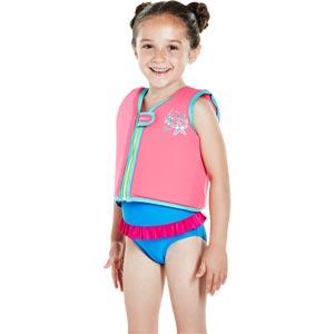 Speedo Seasquad Float Vest Pink/Blue