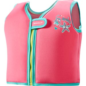 Speedo Seasquad Float Vest Pink/Blue