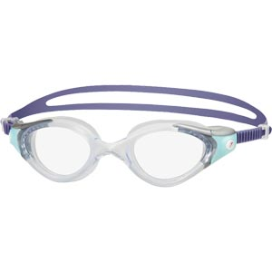 Speedo Futura Biofuse 2 Female Swimming Goggles Grey/Peppermint