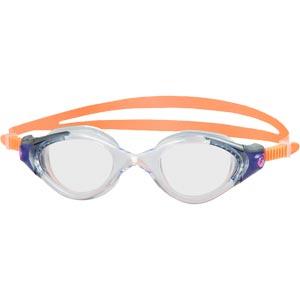 Speedo Futura Biofuse 2 Female Swimming Goggles Coral/Clear