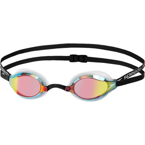 Speedo Fastskin Speedsocket 2 Mirror Swimming Goggles White/Copper