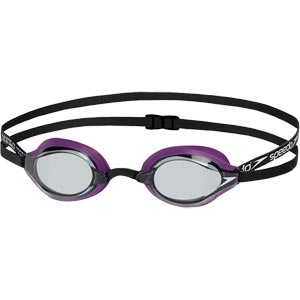 Speedo Fastskin Speedsocket 2 Swimming Goggles Purple/Smoke