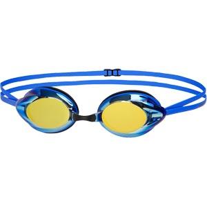 Speedo Opal Mirror Swimming Goggles Blue/Gold