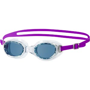 Speedo Futura Classic Female Swimming Goggles Purple/Smoke