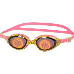 Speedo Holowonder Junior Swimming Goggles Melon/Smoke