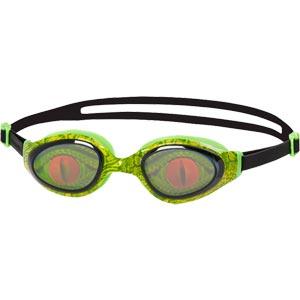 Speedo Holowonder Junior Swimming Goggles Lizard/Smoke