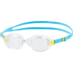 Speedo Junior Futura Classic Swimming Goggles Blue/Clear