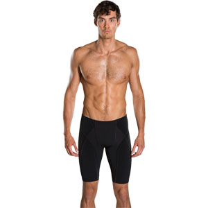 Speedo Fit Power Form Jammer Black/Danube Blue