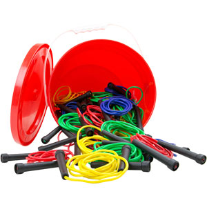 First Play Skipping Rope Essential Tub of 48