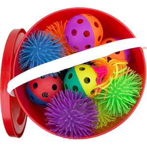 First Play Sensory Ball Essential Tub of 36
