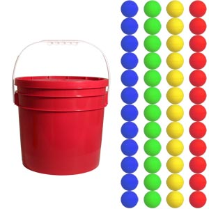First Play Foam Ball Essential Tub of 48