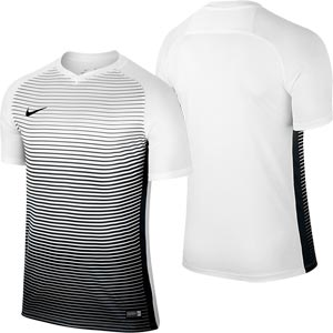 Nike Precision IV Short Sleeve Junior Football Jersey