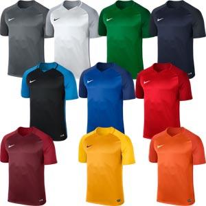 Nike Trophy III Short Sleeve Junior Football Jersey