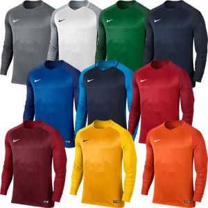 Nike Trophy III Long Sleeve Junior Football Jersey