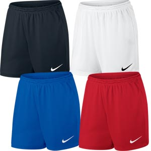 Nike Park II Knit Womens Football Shorts