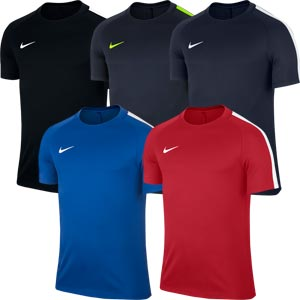 Nike Squad 17 Short Sleeve Senior Training Top