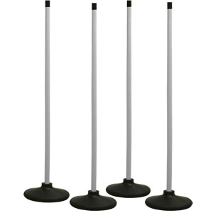 Rounders Post Set Of 4